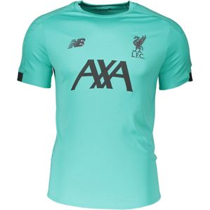 New Balance M NB LFC ON-PITCH SHIRT Rövid ujjú póló - Zöld - XL