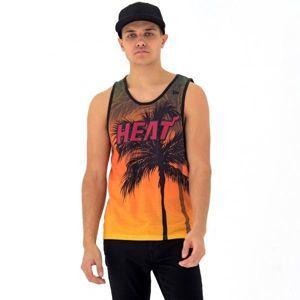 New Era NE NBA MIAMI HEAT COASTAL HEAT TANK narancssárga XL - Férfi ujjatlan felső