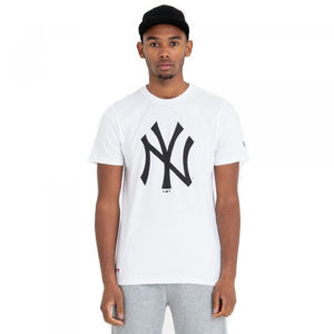 New Era MLB TEAM LOGO TEE NEW YORK YANKEES  L - Férfi póló