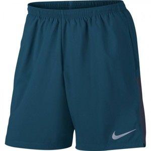 Nike FLX CHLLGR SHORT 7IN kék M - Férfi rövidnadrág futáshoz