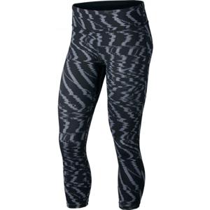 Nike PWR ESSNTL CROP PR W szürke XS - Női legging sportoláshoz