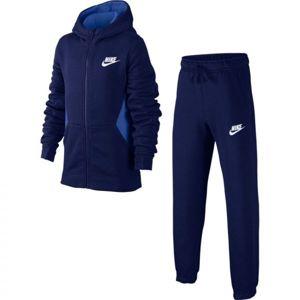 Nike NSW TRK SUIT BF CORE kék XL - Fiú melegítő szett