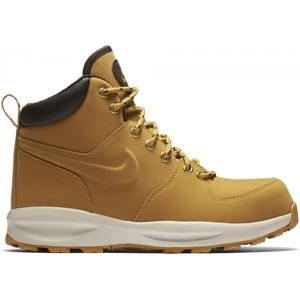 Nike MANOA LEATHER GS bézs 5.5Y - Fiú cipő