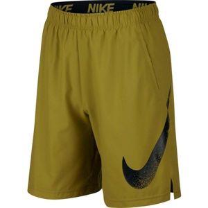 Nike FLX SHORT WVN 2.0 GFX 1 sötétzöld L - Férfi rövidnadrág