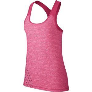 Nike TANK VCTY WRAP rózsaszín L - Női sportos top