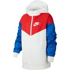 Nike B NSW WR JKT HD Kapucnis kabát - Fehér - XL