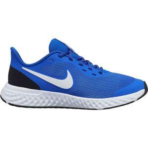 Nike REVOLUTION 5 GS kék 5Y - Gyerek futócipő