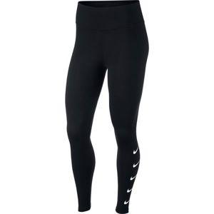 Nike SWOOSH RUN TGHT fekete S - Női legging