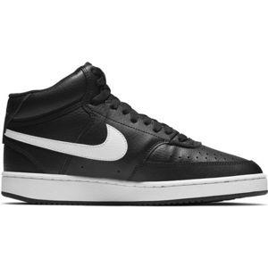 Nike COURT VISION MID WMNS fekete 8.5 - Női szabadidőcipő