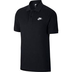 Nike NSW CE POLO MATCHUP PQ M fekete L - Férfi galléros póló