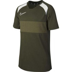 Nike DRY ACD TOP SS SA B sötétzöld XL - Fiú futballmez