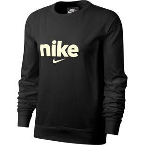 Nike NSW CREW HBR VRSTY W  S - Női hosszú ujjú felső