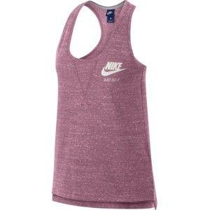 Nike GYM VNTG TANK W rózsaszín S - Női sportos ujjatlan felső