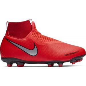 Nike JR PHANTOM VISION ACADEMY DYNAMIC FIT FG piros 3Y - Gyerek futballcipő
