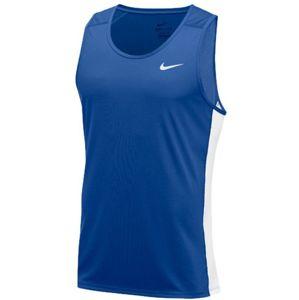 Nike M MILER TANK Atléta trikó - Kék - XL