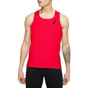 Nike M NK AROSWFT SINGLET Atléta trikó - Piros - M