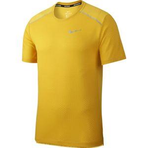 Nike M NK DF BRTH RISE 365 SS HB GX Rövid ujjú póló - Borostyán - 2XL
