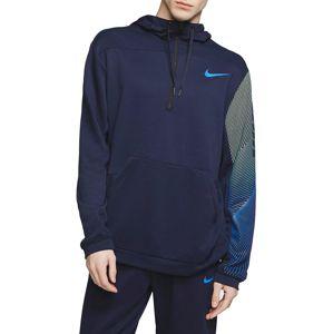 Nike M NK DRI-FIT PULLOVER FLEECE TRAINING HOODIE Kapucnis melegítő felsők - Kék - S