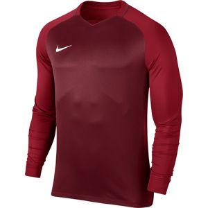 Nike M NK DRY TROPHY III JSY LS Hosszú ujjú póló - Bordó - XXL