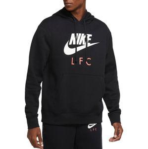 Nike M NK LFC CLUB PO HOODIE Kapucnis melegítő felsők - Fekete - XL