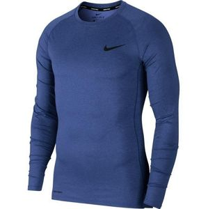 Nike M NP TOP LS TIGHT Kompressziós póló - Kék - 2XL