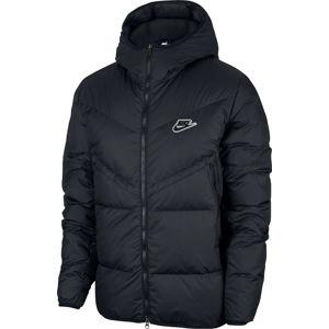 Nike M NSW DWN FIL WR JKT SHLD R Kapucnis kabát - Fekete - XS