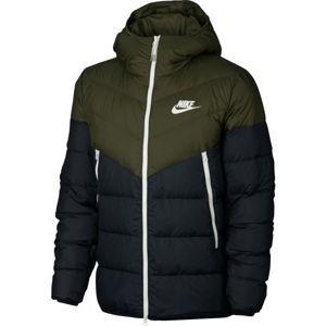 Nike M NSW DWN FILL WR JKT HD zöld XL - Férfi steppelt kabát