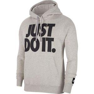 Nike M NSW JDI+ HOODIE PO FLC MIX Kapucnis melegítő felsők - Szürke - S