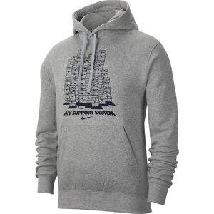 Nike M NSW PO HOODIE FLC FW CLTR 8 Kapucnis melegítő felsők - Szürke - M