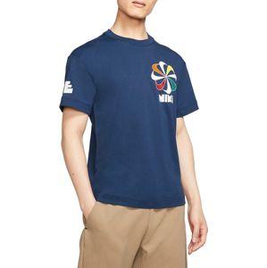 Nike M NSW SS TEE CLASSICS 1 Rövid ujjú póló - Kék - XL