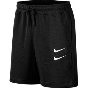 Nike M NSW SWOOSH SHORT FT Rövidnadrág - Fekete - M