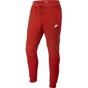 Nike M NSW TCH FLC JGGR Nadrágok - Červená