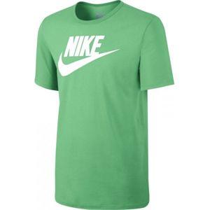 Nike NSW TEE ICON FUTURA világos zöld M - Férfi póló