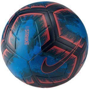 Nike NK STRK - STRIKE NIGHT Futball-labda - Modrá