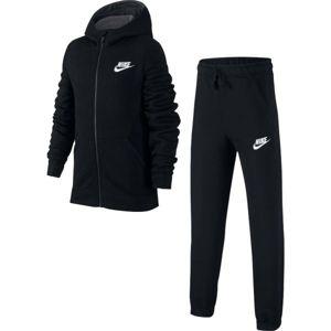 Nike NSW TRK SUIT BF CORE fekete XL - Fiú melegítő szett