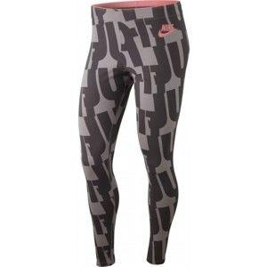 Nike SPORTSWEAR LEGGINGS W sötétszürke XS - Női legging