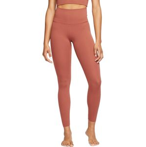 Nike THE YOGA LUXE 7/8 TIGHT Nadrágok - Barna - L