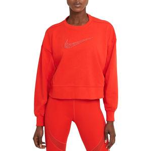 Nike W NK DRY GET FIT CREW SWSH Melegítő felsők - Piros - S