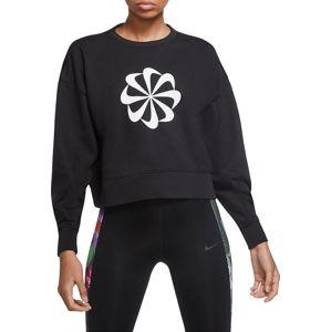 Nike W NK ICNCLSH DRY FLC PT TP GD Melegítő felsők - Fekete - XS