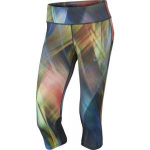 Nike NK PWR EPIC RUN CPRI PR W kék XS - Női capri nadrág