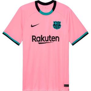 Nike Y NK FCB STADIUM 3RD DRY SS JSY 2020/21 Póló - Rózsaszín - XL