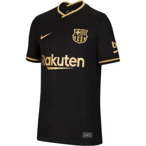 Nike Y NK FCB STADIUM AWAY DRY SS JSY 2020/21 Póló - Fekete - XL