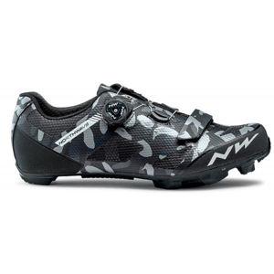 Northwave RAZER fekete 43 - Férfi kerékpáros cipő