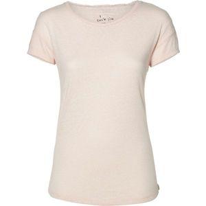 O'Neill LW ESSENTIALS T-SHIRT világos rózsaszín XL - Női póló