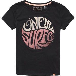 O'Neill LG EXPLORE LIFE S/SLV T-SHIRT fekete 128 - Lány póló