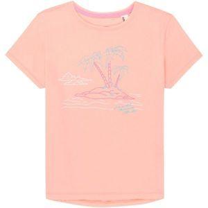 O'Neill LG S/SLV ISLAND T-SHIRT - Lány póló