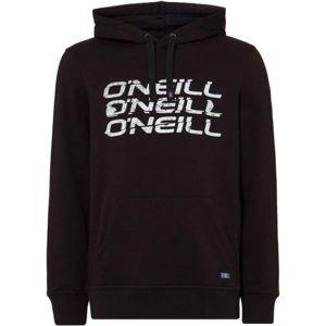 O'Neill LM TRIPLE ONEILL HOODIE fekete S - Férfi pulóver