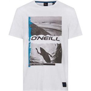 O'Neill LM SEICHE T-SHIRT fehér XXL - Férfi póló