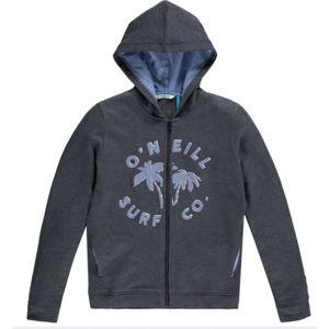 O'Neill LG EASY F/Z HOODIE sötétszürke 116 - Lányos pulóver