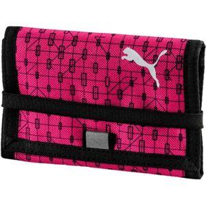 Puma BETA WALLET rózsaszín UNI - Pénztárca